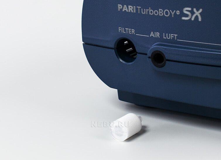 Компрессорный ингалятор pari turboboy n фото